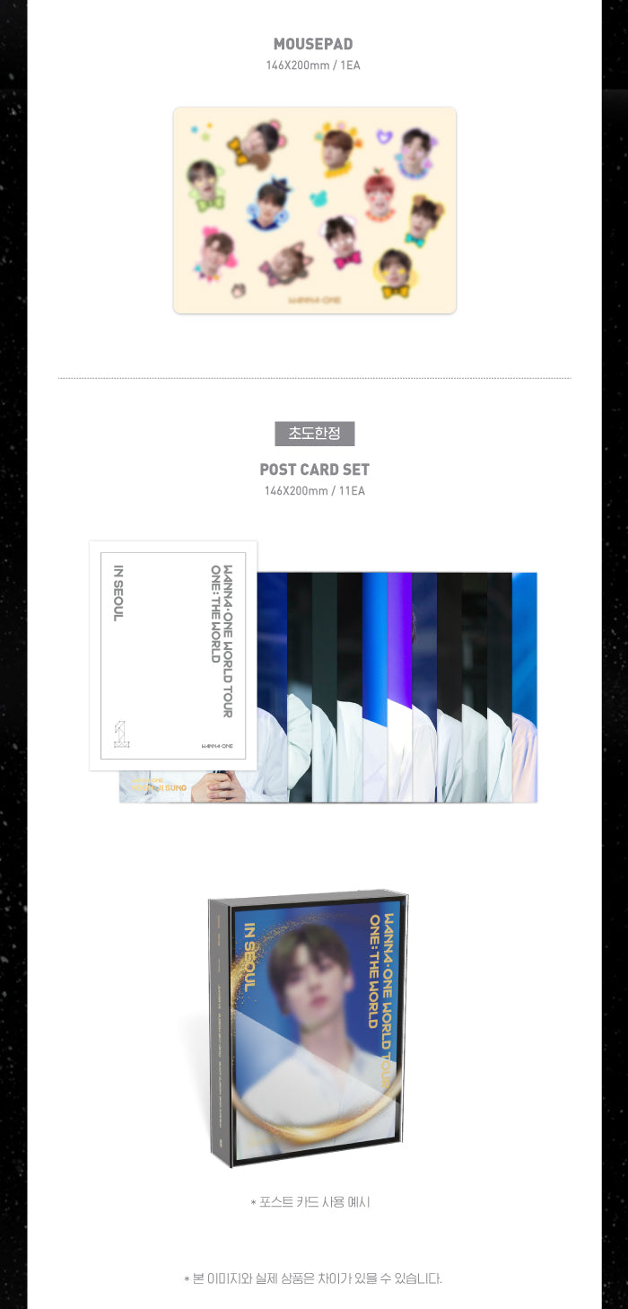 Wanna One - Wanna One World Tour (3DVDs) - Pre-Order