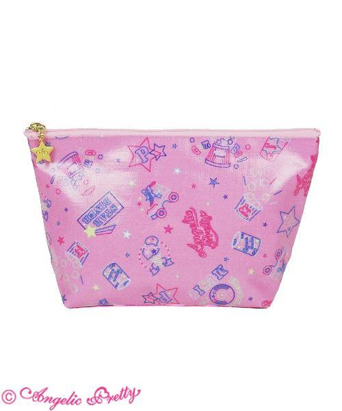 ANGELIC PRETTY Neon Star Diner Pouch