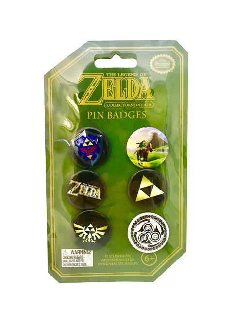The Legend of Zelda - Button Pin Badges