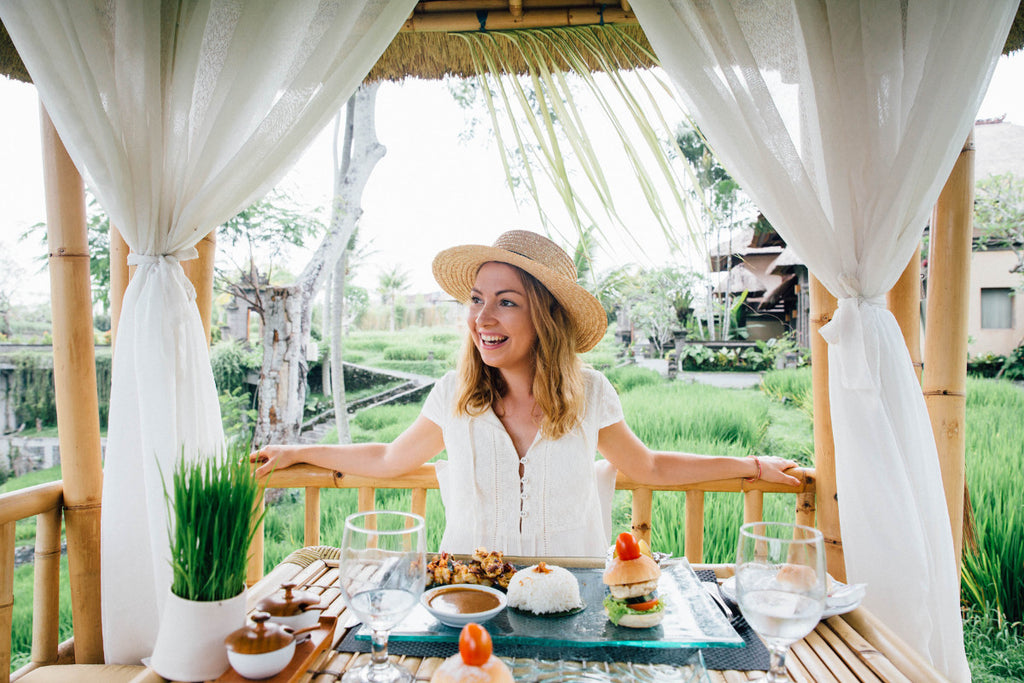 Polkadot Passport at Supernomad - Dining at the Four Seasons Sayan - Ubud, Bali, Indonesia