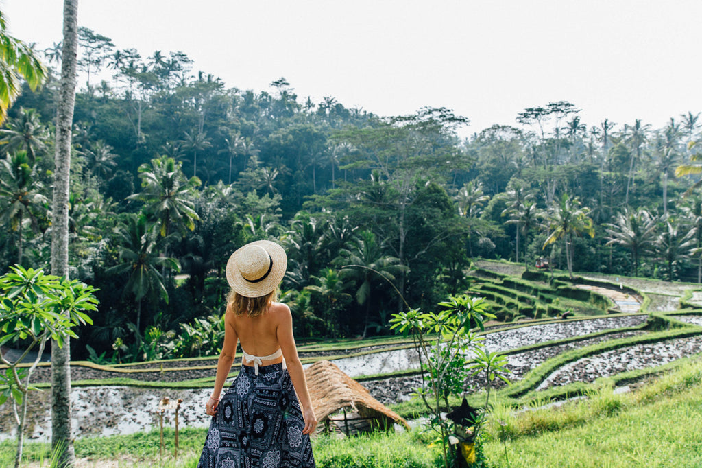 Polkadot Passport at Supernomad - Nicola Easterby and paddy fields - Ubud, Bali
