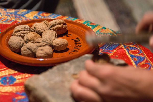 Sophee Smiles - At Home in Morocco - Cracking Walnuts