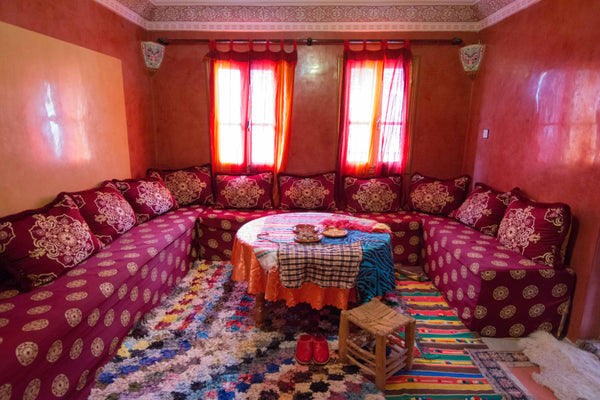 Sophee Smiles - At Home in Morocco - Majlis Seating