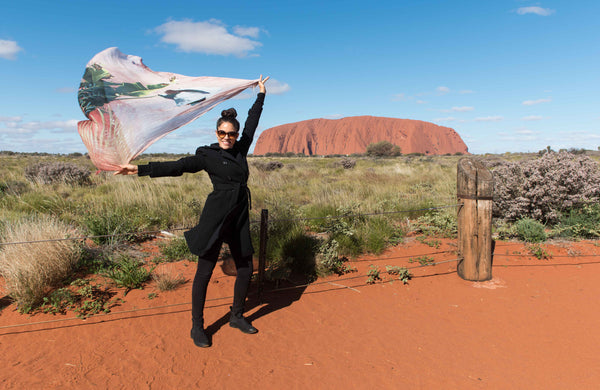 Sophee Smiles in Uluru at Supernomad