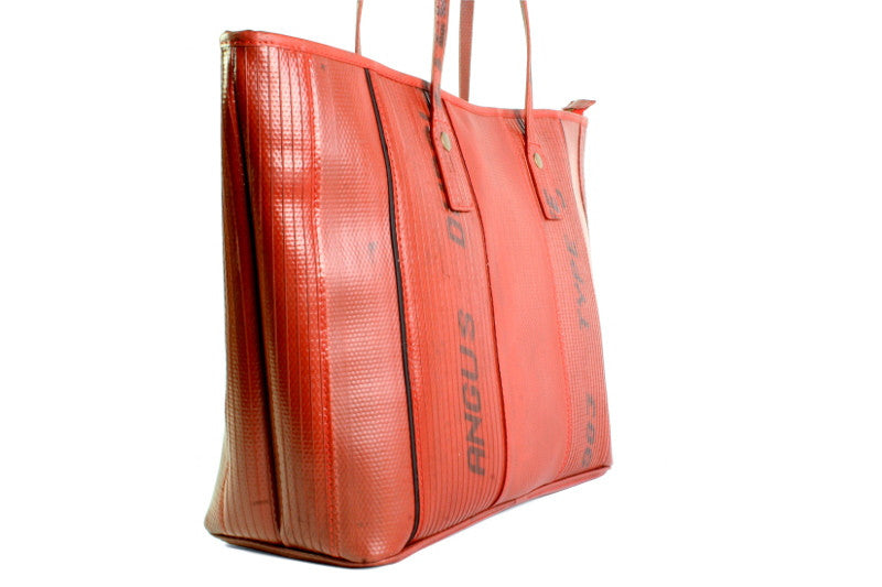 7596451023ac Elvis   Kresse Red Tote Bag - Supernomad - the Luxury Edit for the ...