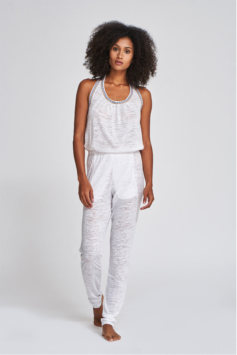 49b58df9316 Pitusa Halter Jumpsuit in White - Supernomad - Supernomad - the ...