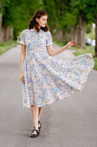Classic Dress, Short Sleeves, Summer Breeze