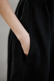 Classic Dress, Long sleeves, Skyblue collar, Bluebell