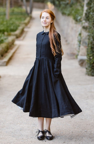 Linen Shawl, Girls, Natural Linen
