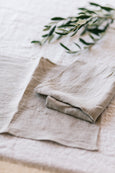 Linen Placemat, Set of 2, Natural Linen