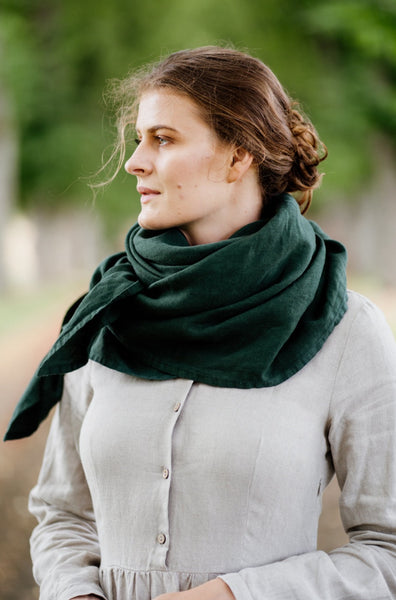 Palisandra Shawl, Evergreen