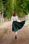 Classic Skirt, Evergreen