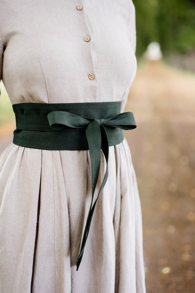 Ribbon Belt, Evergreen
