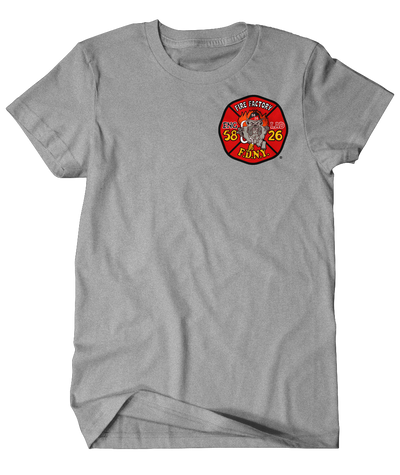 FDNY E58 L26 Old School House Tee