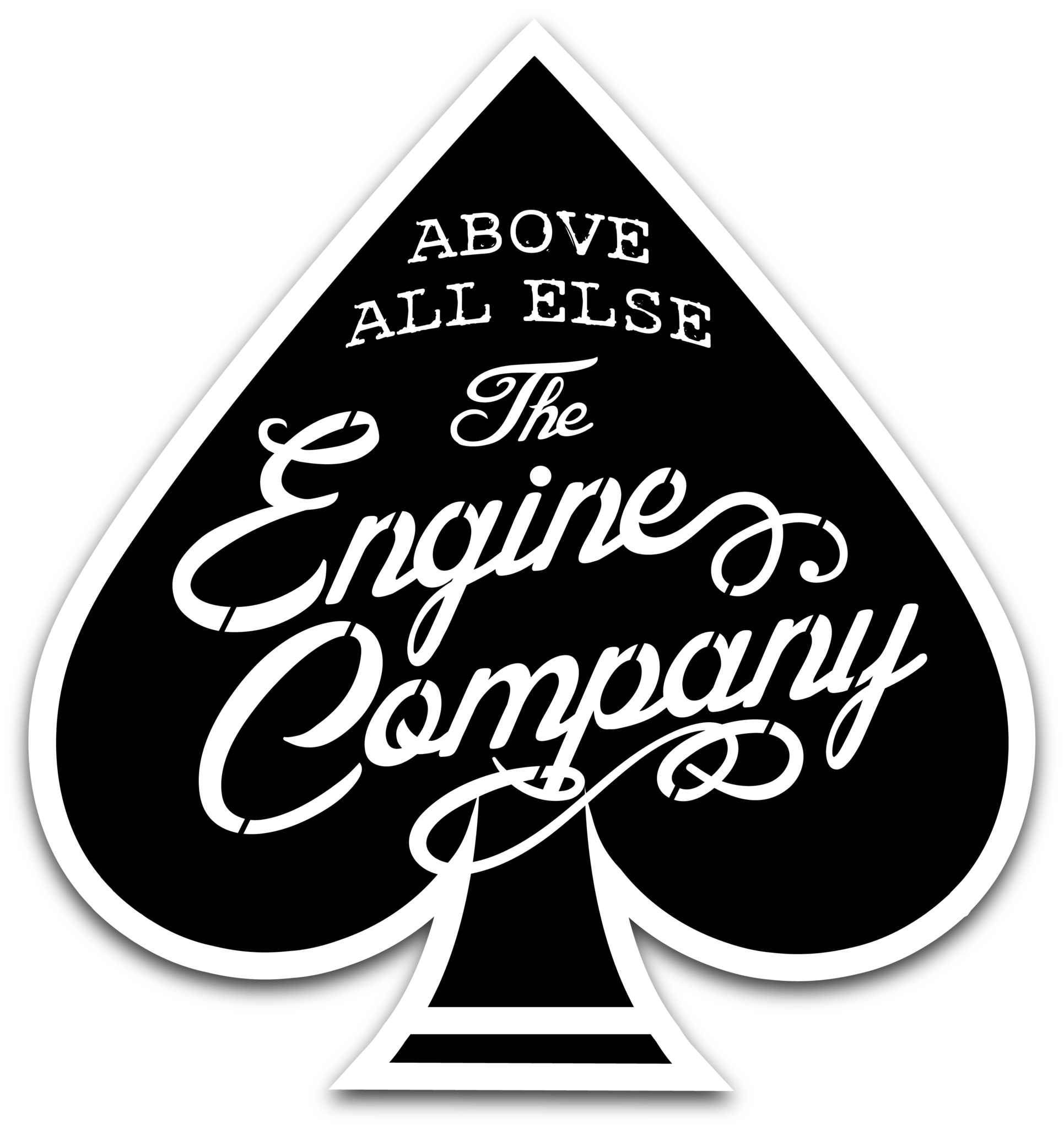 Above All Else Engine Decal