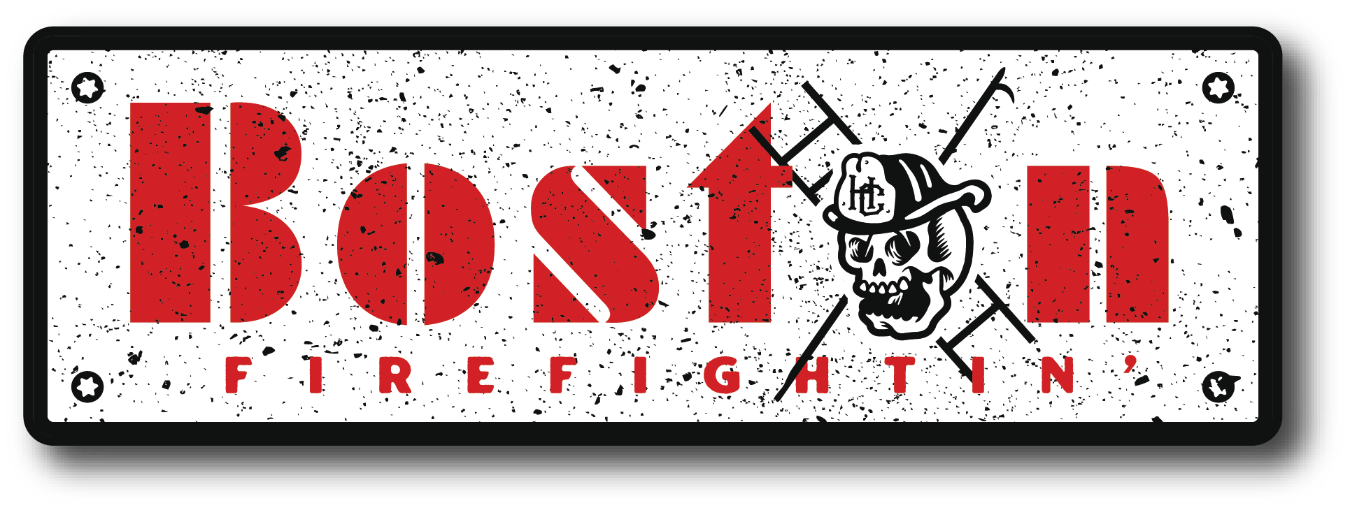 H.C. Boston Firefightin' Decal