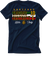 "HFD E10 D1 Navy "" Little Italy "" Tee"