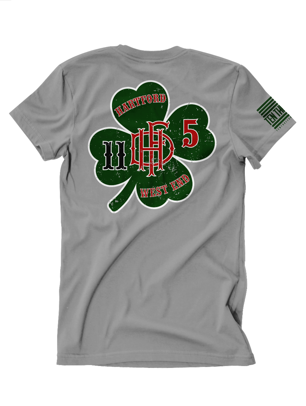 Hartford Engine 11 Ladder 5 St Paddys Tee