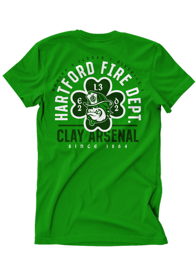 Hartford Fire E2 L3 D2 House Green Tee