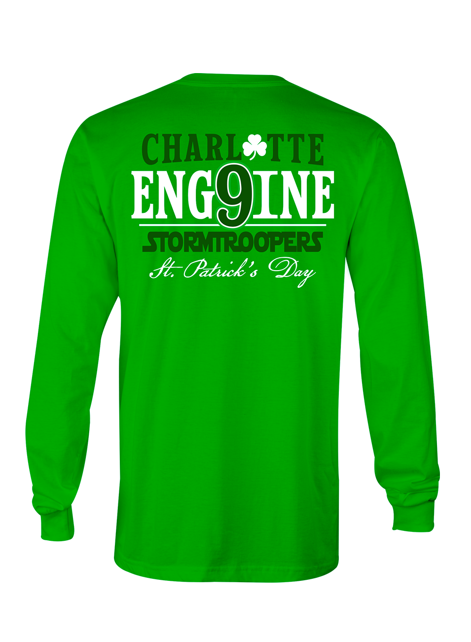 Charlotte Engine 9 St Paddys Long Sleeve