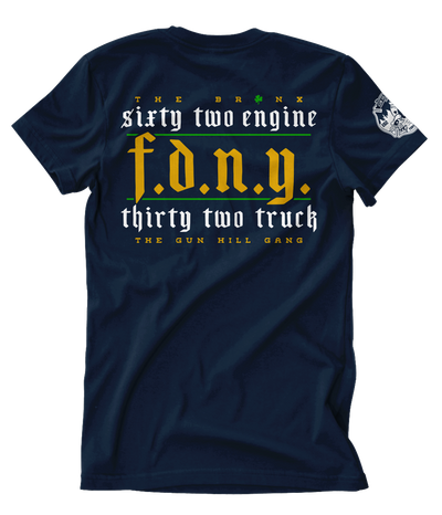 FDNY Gun Hill Gang Paddy's Day 2020 Tee