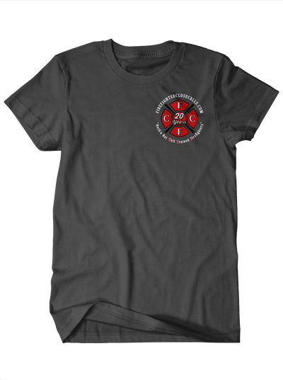 FireFighterCloseCalls.com 20th Anniversary Charity Tee