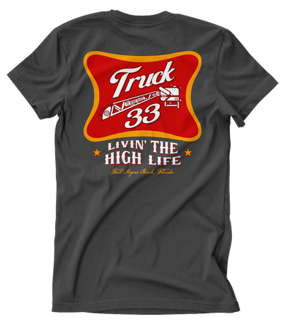 Ft Myers Truck 33 April 19 Shirt Club Tee