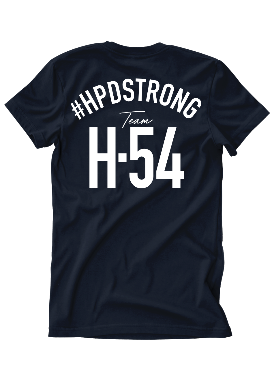 #HPDSTRONG H54 Support Tee