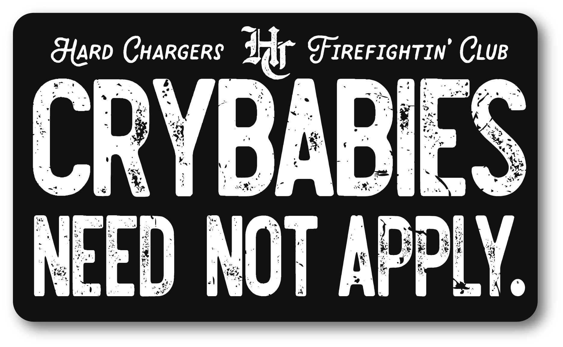 H.C. Crybabies Decal