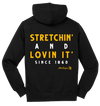 Hard Chargers Stretchin' & Lovin It' Hoodie