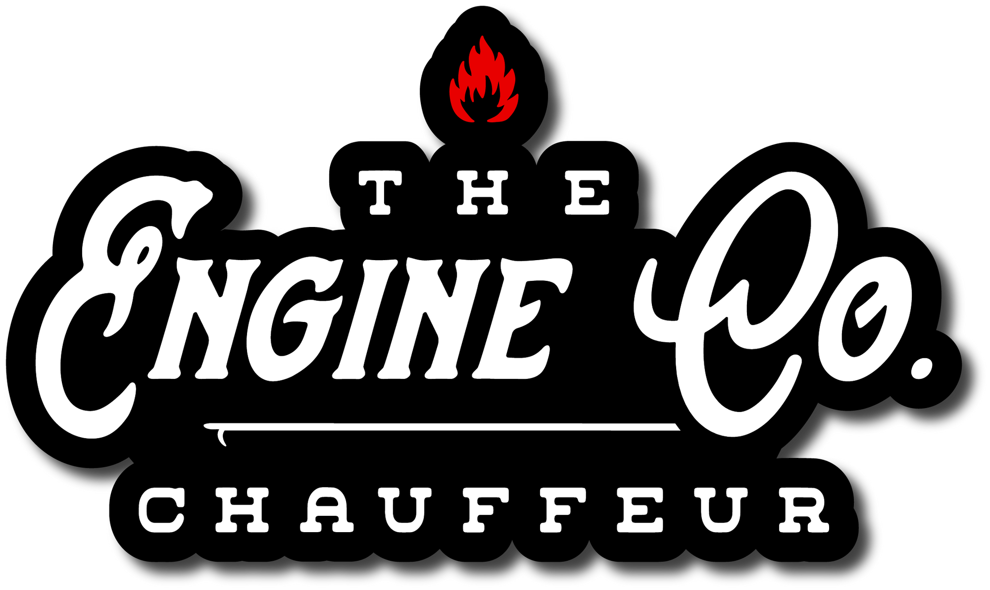 H.C. Engine Co. Chauff Decal