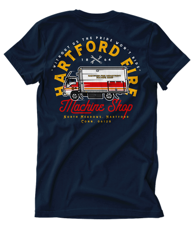 "Hartford Fire ""The Shop"""