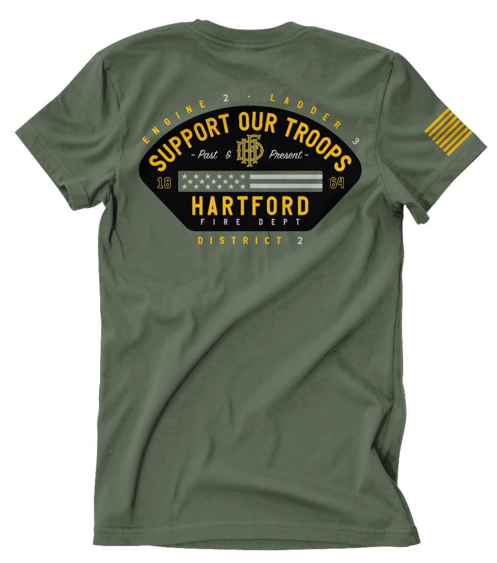 Hartford Fire E2 L3 D2 October 19 Shirt Club Tee