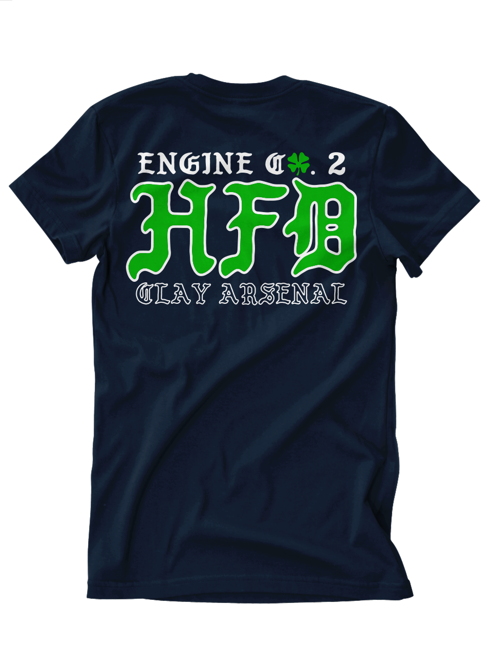 Hartford Engine 2 St. Paddy's Day 2018 Tee