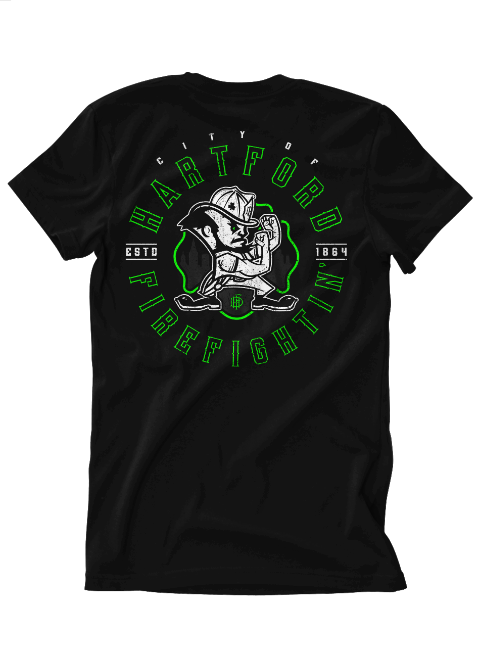Hartford Fire St Patricks Day 2017 Tee's