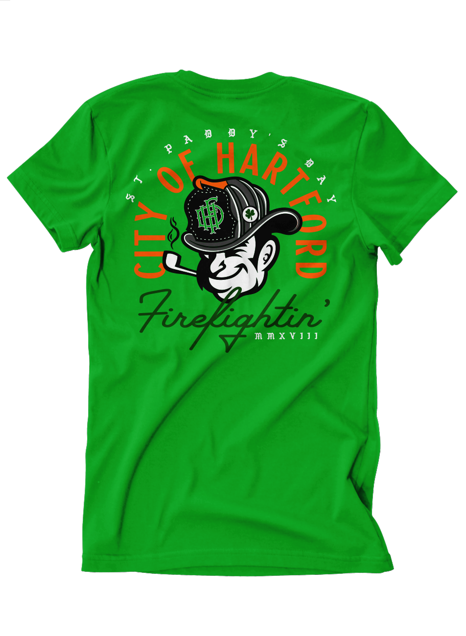 Hartford Firefighters St. Paddy's Day 2018 Tee