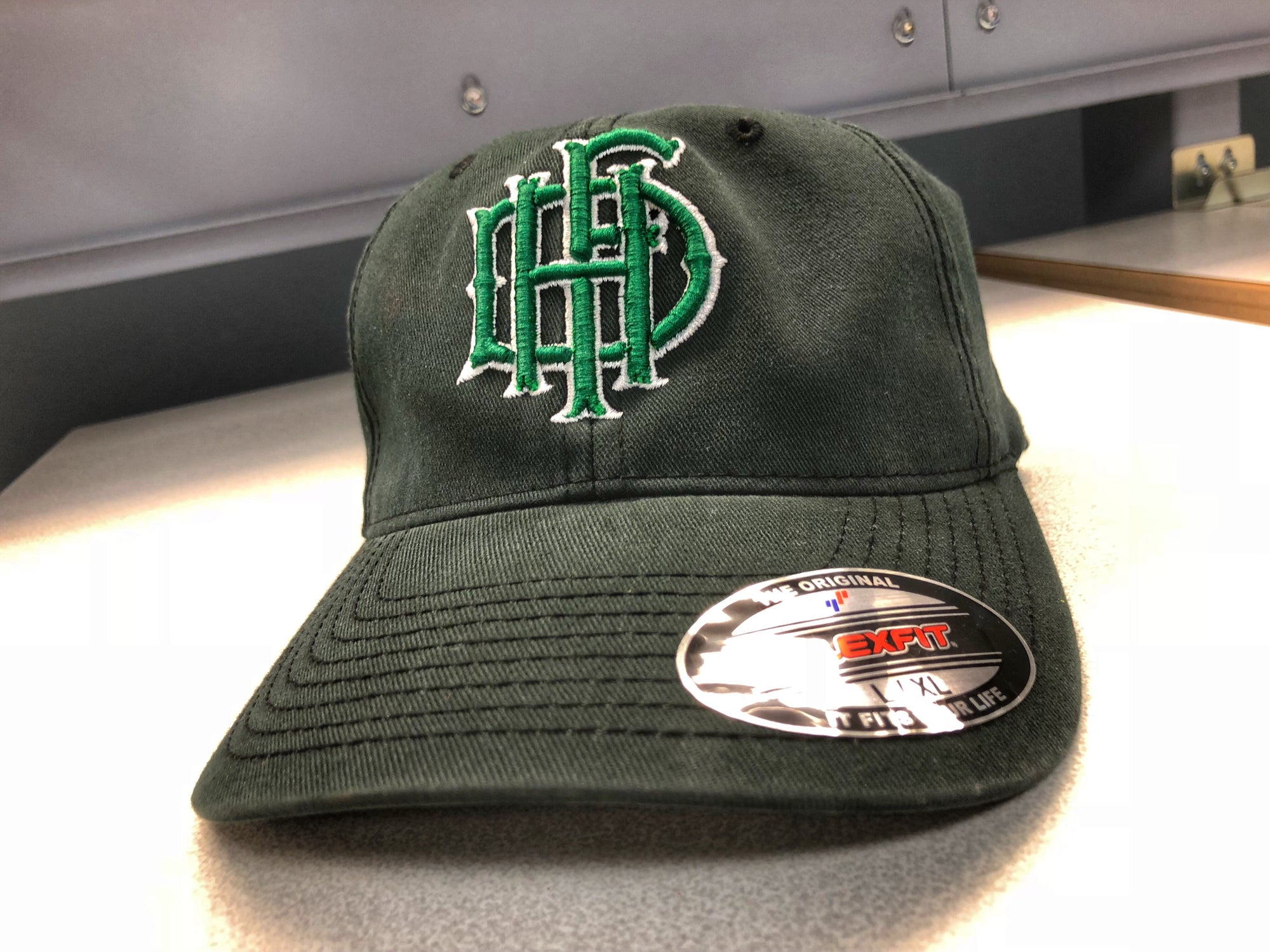 "Hartford Fire Vintage "" Shamrock "" Flex Fit"
