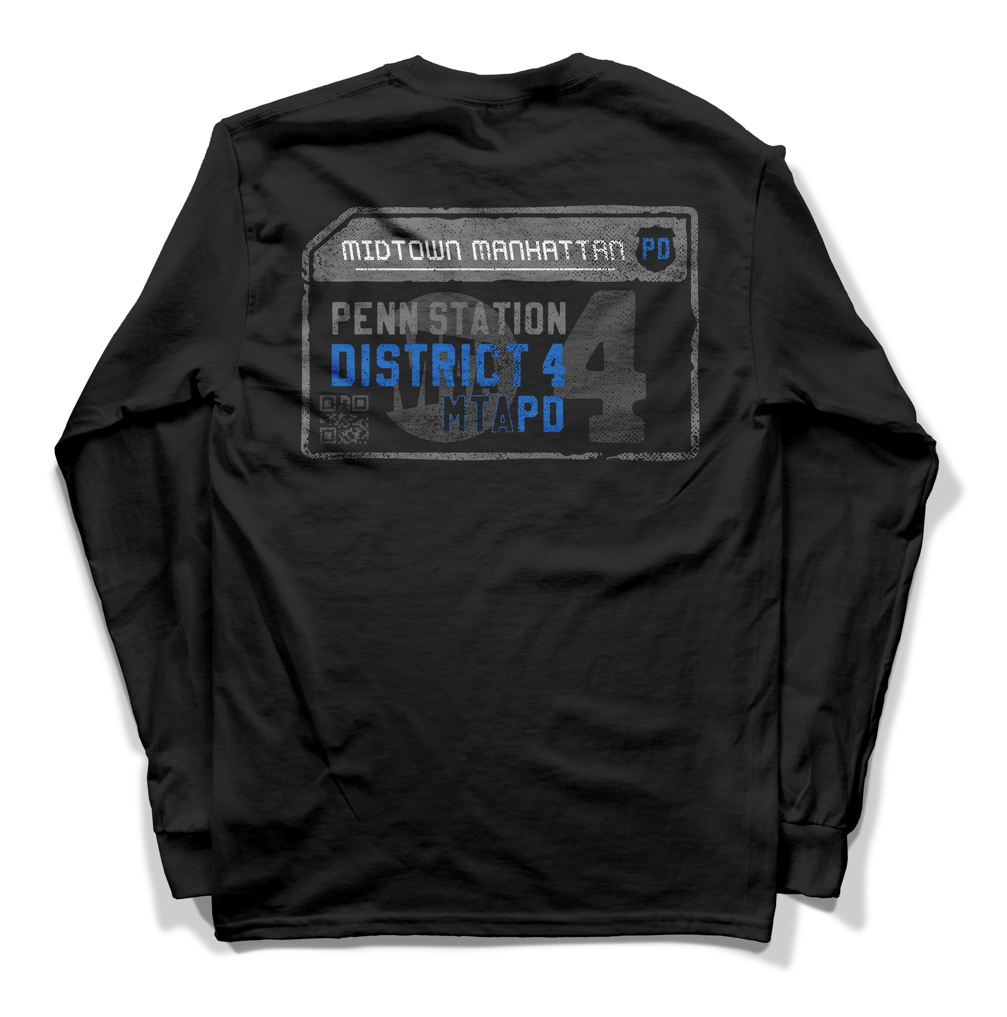 "MTA PD ""District 4"" Long Sleeve"
