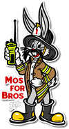 Mos For Bros Decal