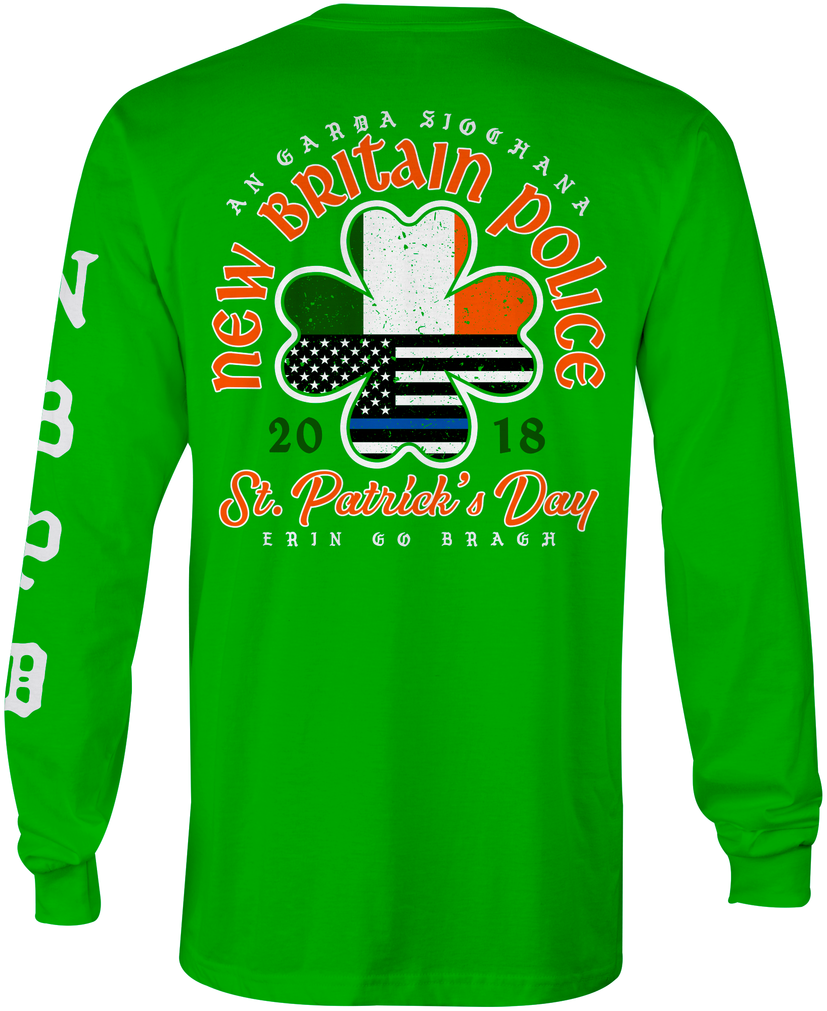 New Britain PD St. Paddy's Day 2018