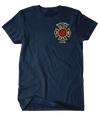 FDNY Never Forget Flag Tee
