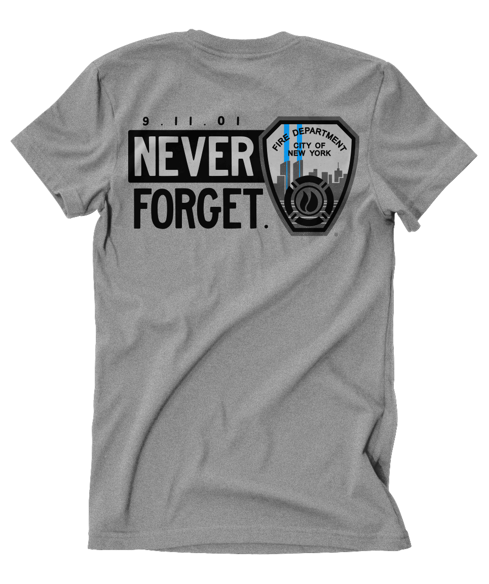 FDNY Never Forget Shield Tee