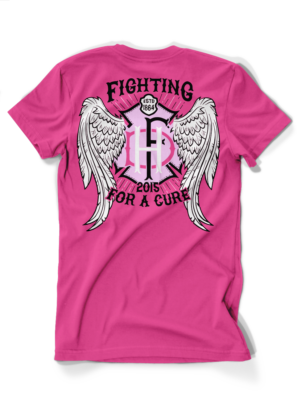 Hartford Fire Goes Pink Tee 2015