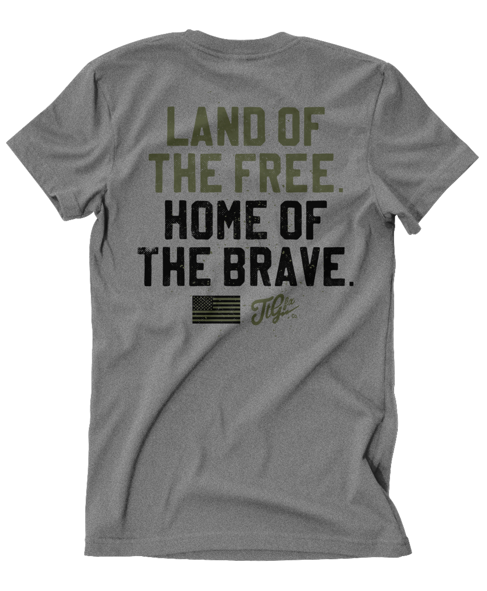 "TTGfx 'Land of the Free"" Shop Tee"