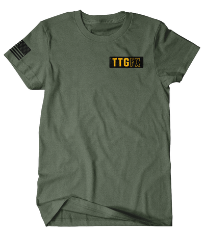 "TTGfx ""God Bless Our Vets"" Shop Tee"