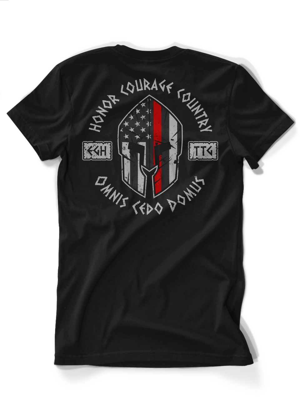 Everyone Goes Home Thin Red Line Tee