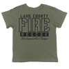 Lake County FF (FL) L3990 Support Our Troops Youth