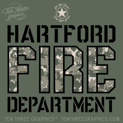 "Hartford Fire ""Salute to Vets"" Tee"