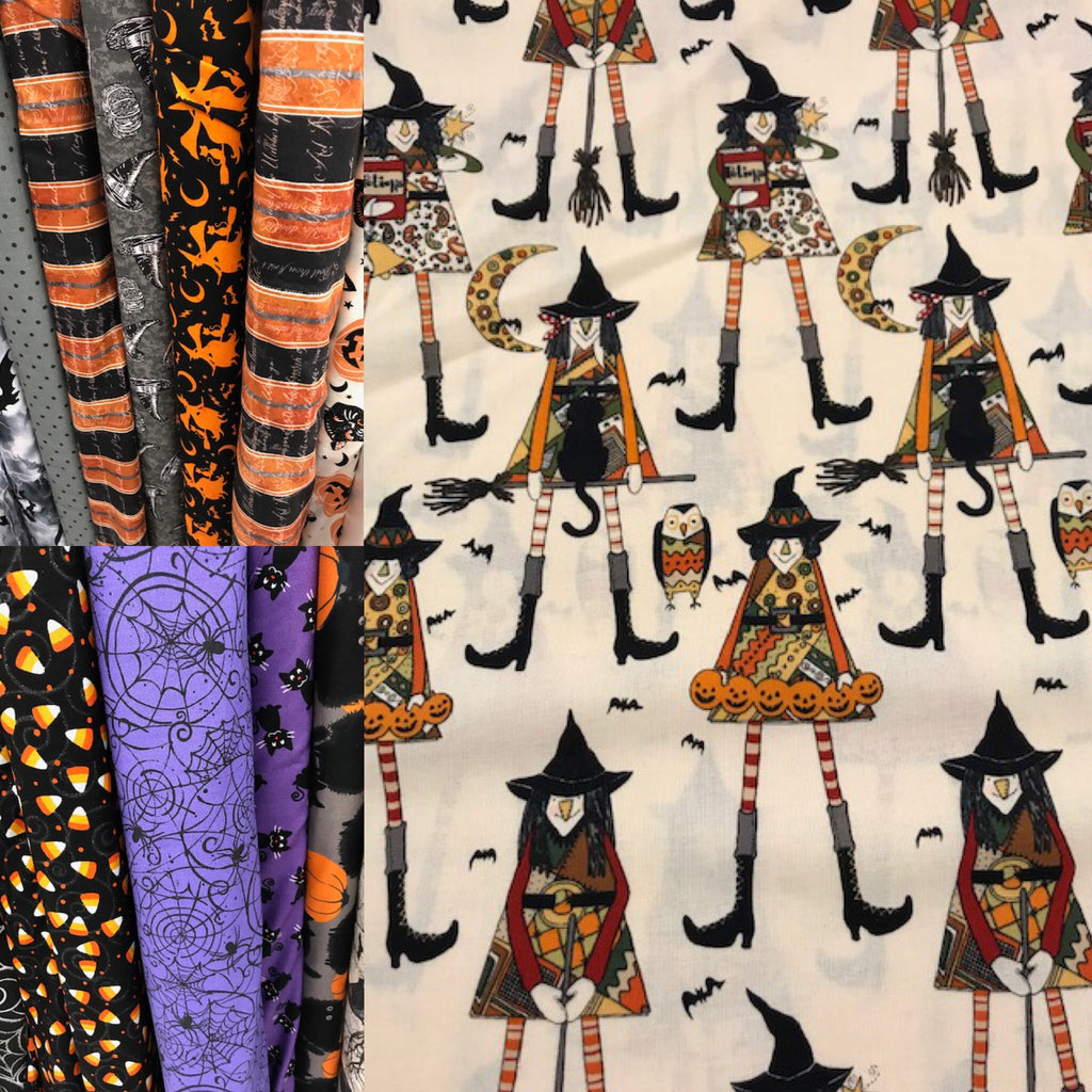 Cute Halloween Fabric at JoAnn's