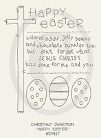 Happy Easter Embroidery Epattern
